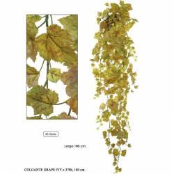 Hiedra de uva artificial colgante