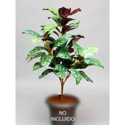 Planta artificial aglaonema