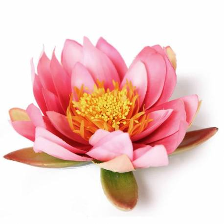 Flor lotus flotant artificial gran