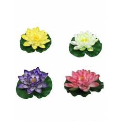Flor artificial lotus flotant gran