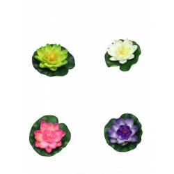 Flor artificial lotus flotante pequeño