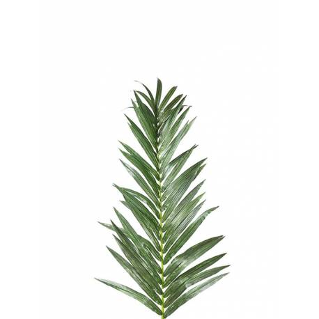 Hoja de palmera artificial pequeña
