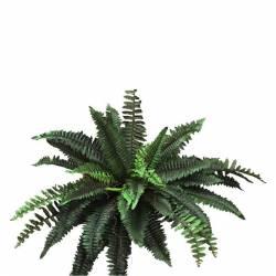 Planta helecho artificial con brotes grande