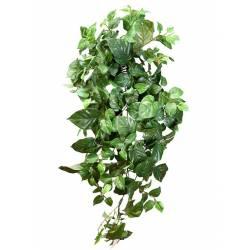 Pothos artificial colgante hojas grandes