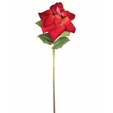 Flor de pascua artificial grande