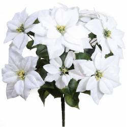 Flor de pascua artificial economica
