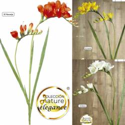 Flor fresia artificial de calidad