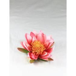 Flor lotus flotante artificial pequeño