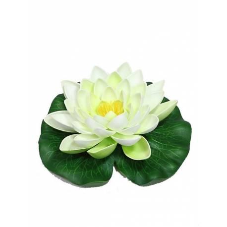 Flor artificial lotus flotante grande