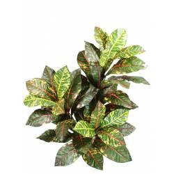 Planta croton artificial 3 ramas