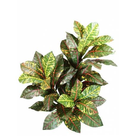 Planta croton artificial 3 branques