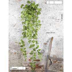 Planta pothos artificial colgante
