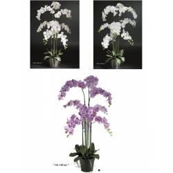 Phalaenopsis artificial grande en maceta