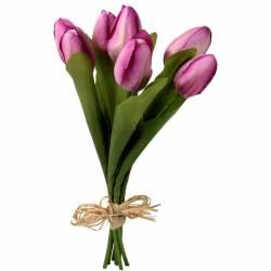 Atado 7 tulipanes artificiales