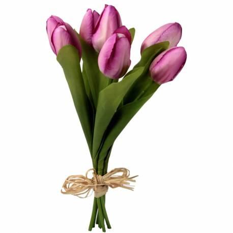 Lligat 7 tulipes artificials