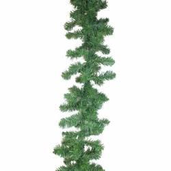 Guirnalda navidad pino artificial estrecha