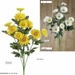 Flores artificiales margaritas