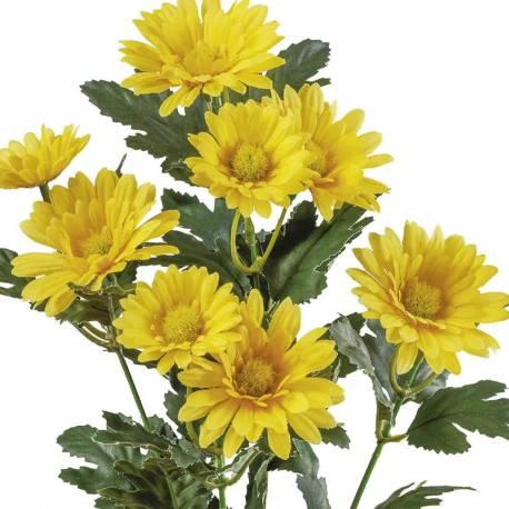 Flors artificials margarides