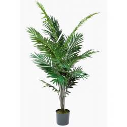 Palmera artificial kentia con maceta