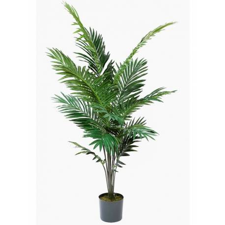 palmera artificial kentia con maceta oasis decor