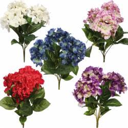 Mata flors hortensies artificials