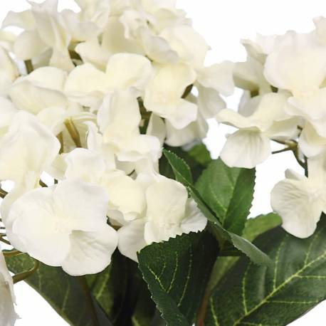 Mata flores hortensias artificiales