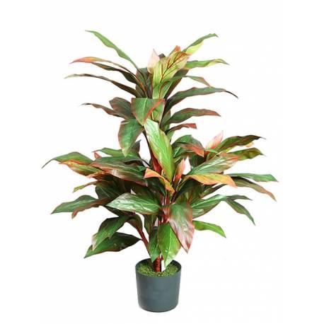 Planta artificial cordyline con maceta