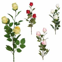 Rama tres rosas artificiales