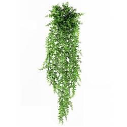 Planta artificial helecho colgante de plastico