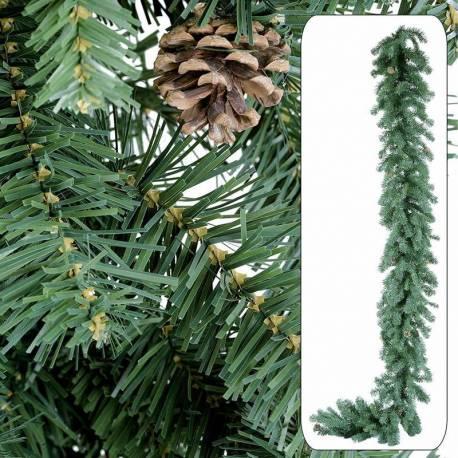 Guirnalda pino artificial abeto Noruega ancha