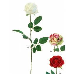 Flor rosa artificial