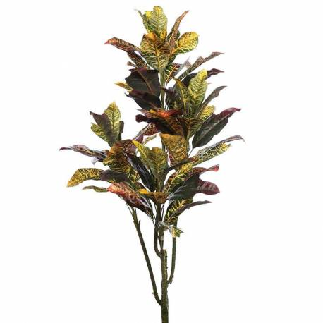 Planta croton artificial sense test 122