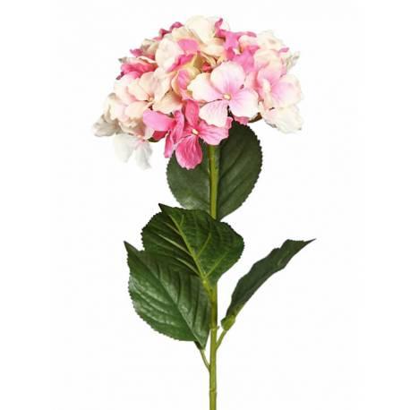Flor hortensia artificial gama economica