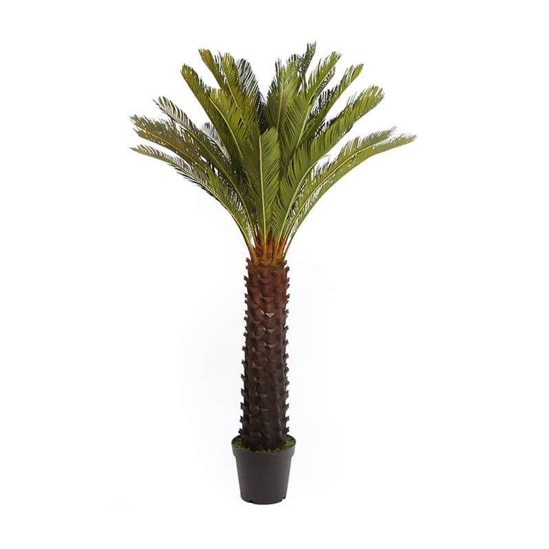 Palmera cyca de plastico 170 oasis decor for Plastico para estanques artificiales