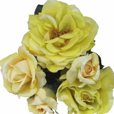Buquet roses artificials làtex