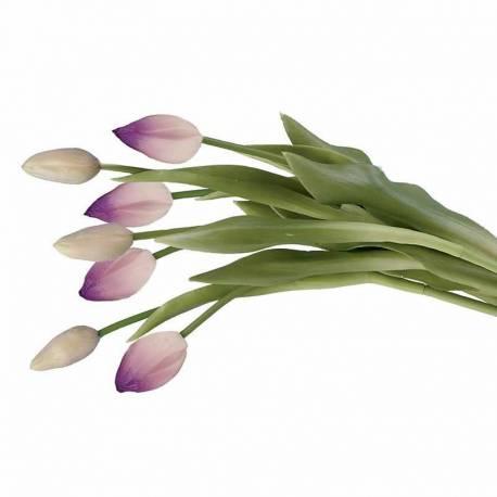 Lligat de tulipes artificials