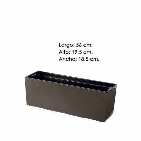 Jardinera (cubremacetas) rectangular