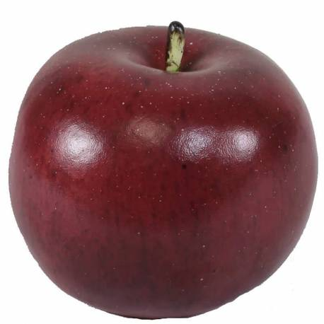 Manzana artificial roja