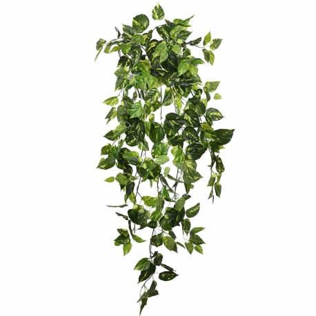 Planta pothos artificial que penja