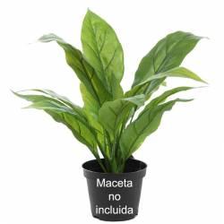 Planta artificial pequeña spatifilium sin maceta