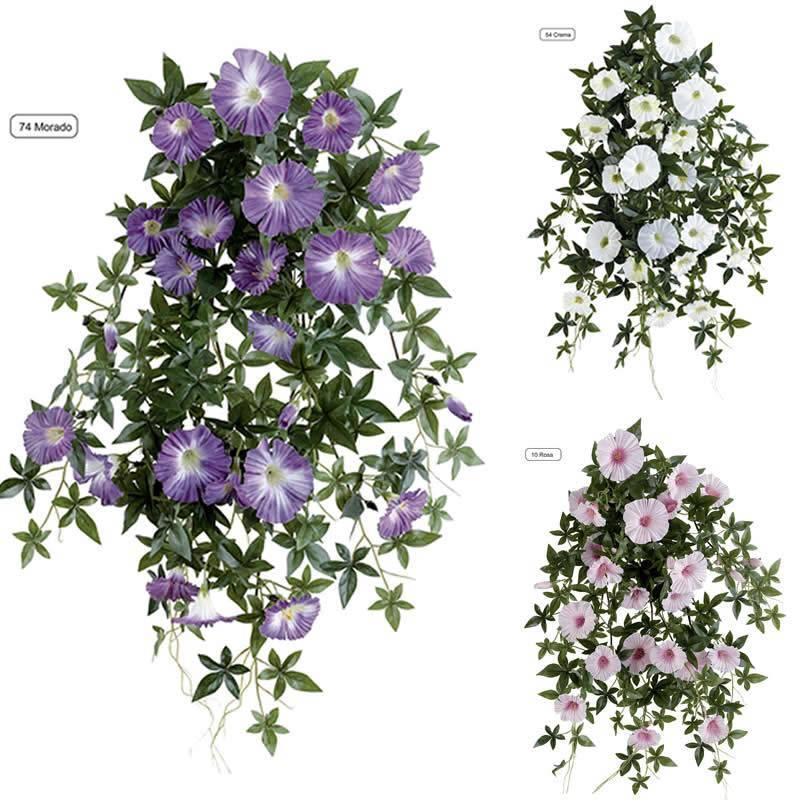 Plantas colgante petunias artificiales oasis decor - Plantas colgantes ...