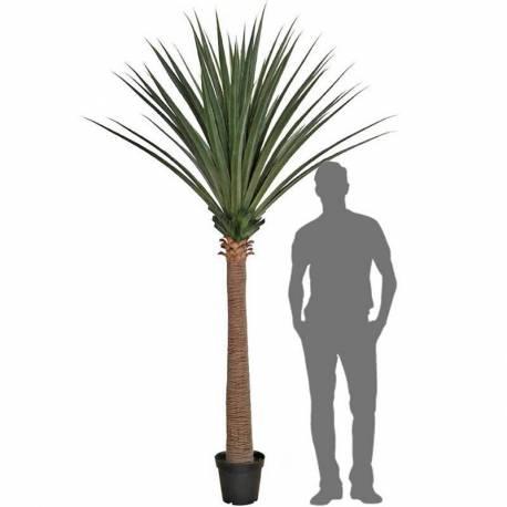 Planta artificial dracena draco con maceta 260