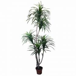 Planta artificial Yuca con maceta 185