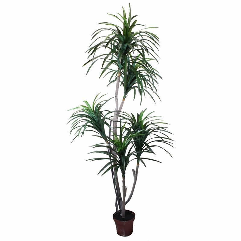 Planta artificial yuca con maceta 185 oasis decor for Planta yuca exterior