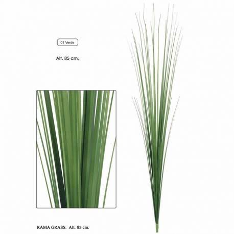 Rama hierba artificial de plastico 085