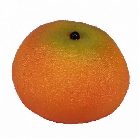 Fruta mandarina artificial