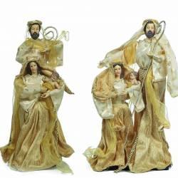 Figuras Nacimiento Navidad color oro
