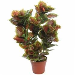 Planta artificial coleo con maceta 070