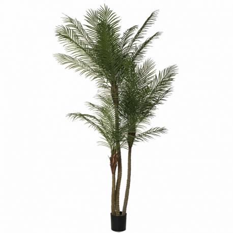Palmera areca artificial 3 troncos 260