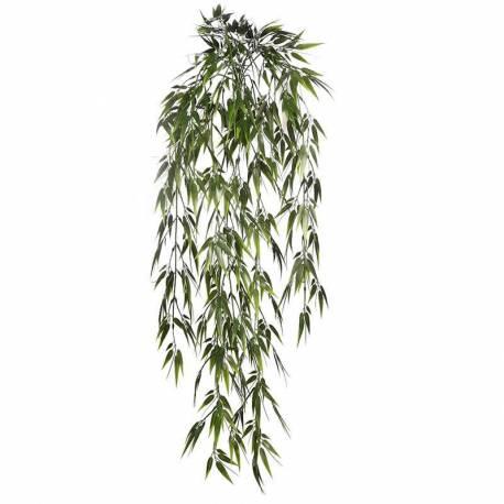 Planta artificial colgante bambu de plastico oasis decor - Plantas de plastico ikea ...
